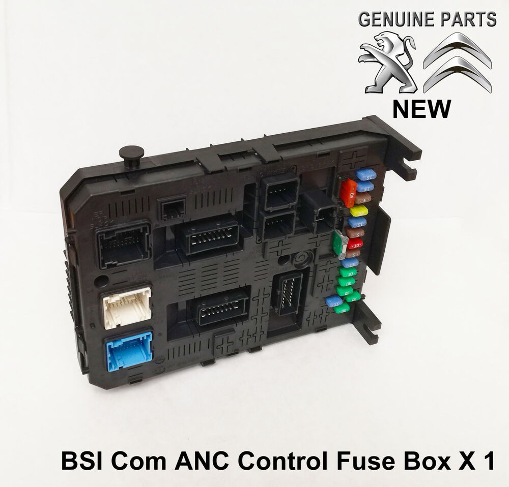 Citroen Berlingo 1 9d Fuse Box Great Design Of Wiring Diagram Mazda T3500 C4 Picasso C5 C6 Anc Bsi Module 2015