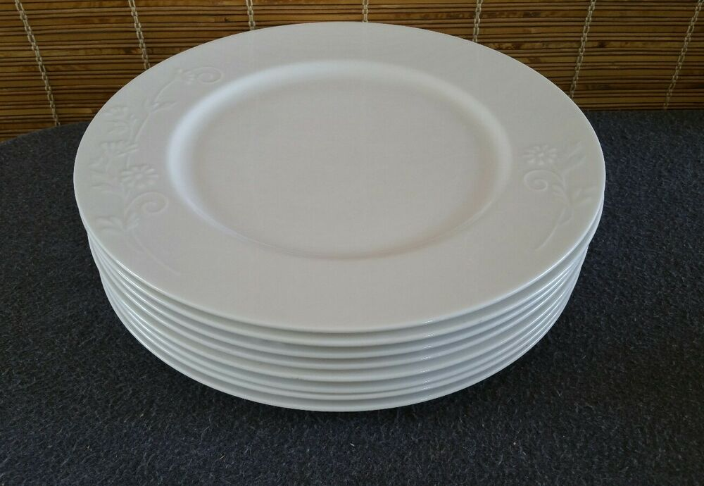 & Roscher Fine Porcelain Bone China (8) Daisy Dinner Plates | eBay