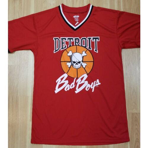 exclusive-authentic-detroit-pistons-bad-boys-vneck-baseball-jersey-red