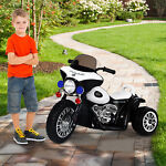 6V Kids Ride On Police Motorcycle Electric Battery Powered Trike Car Toy Gift