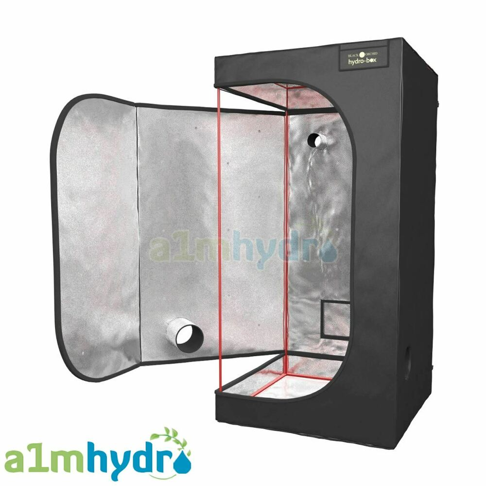 Black Orchid Grow Tent Indoor Dark Room Box Hydroponics  sc 1 st  eBay & Indoor Hydroponic Grow Tents | eBay