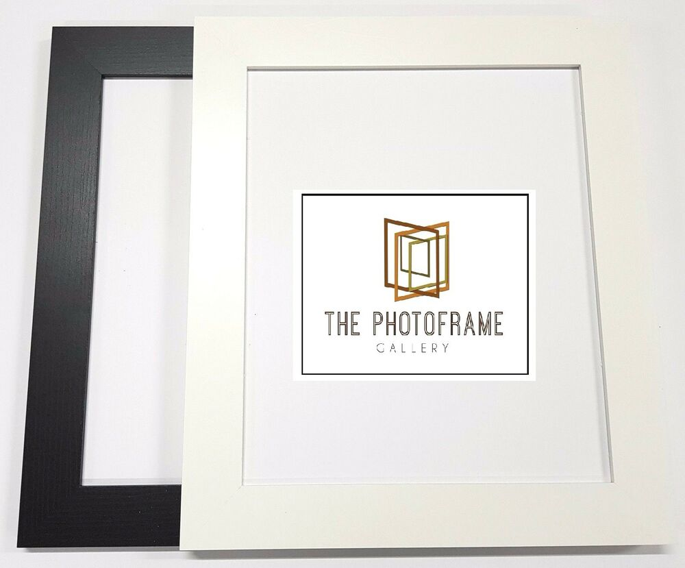 40 mm Wide Flat Picture Photo Frame Poster Frame All Sizes Square ...