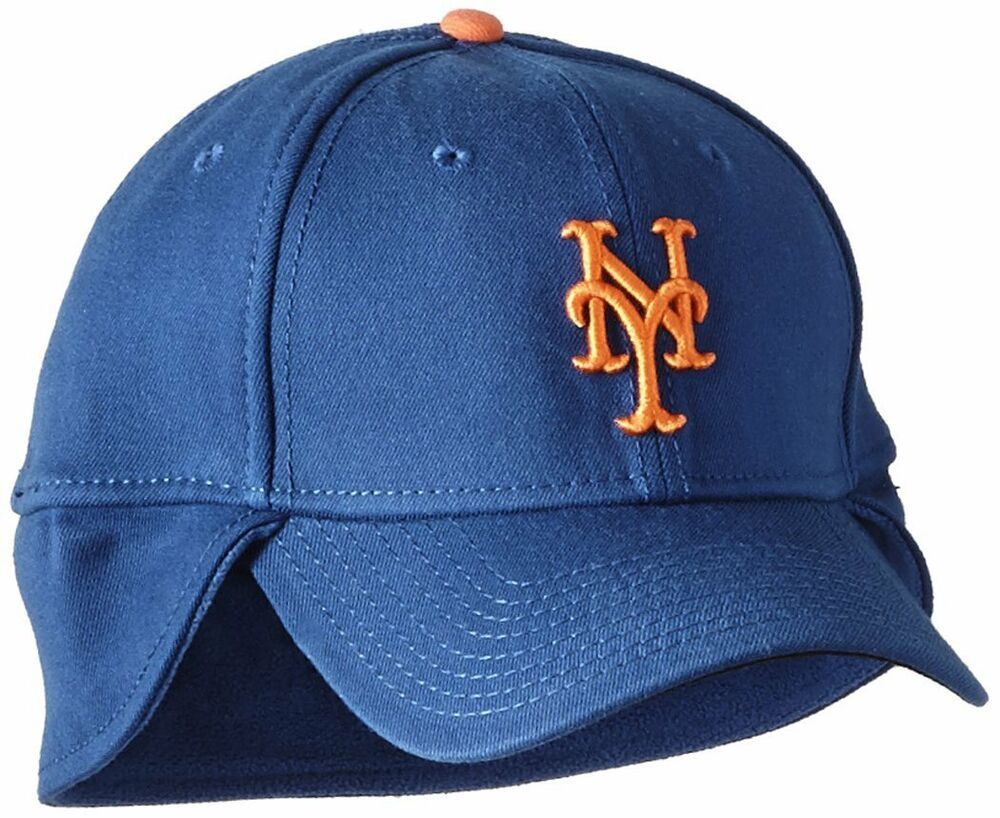 Details about New York Mets MLB Authentic Downflap New Era 39Thirty Flexfit  Hat Cap Elmer Fudd f5793b6afac0
