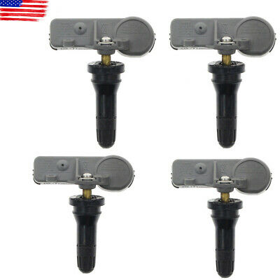 4pcs GM OEM New TPMS Tire Pressure Monitoring Sensors Set for Chevy GMC 13581558
