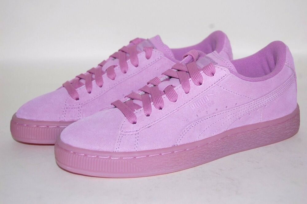128d7e55edfe Puma suede Iced Jr 361937-04 Smoky Grape Women Junior Shoes