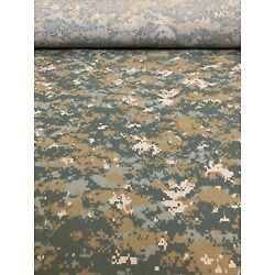 UCP Delta Digital Camo Flame Resistant Ripstop Fabric 66''W Military Camouflage