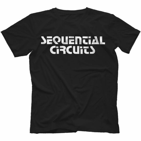 Sequential Circuits T-Shirt 100% Cotton Retro Synth Pro-One Prophet 5 10