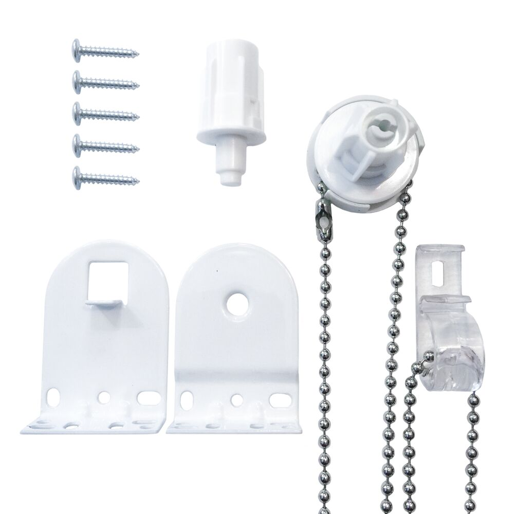 Metal Roller Blind Fittings Repair Parts Kit Brackets