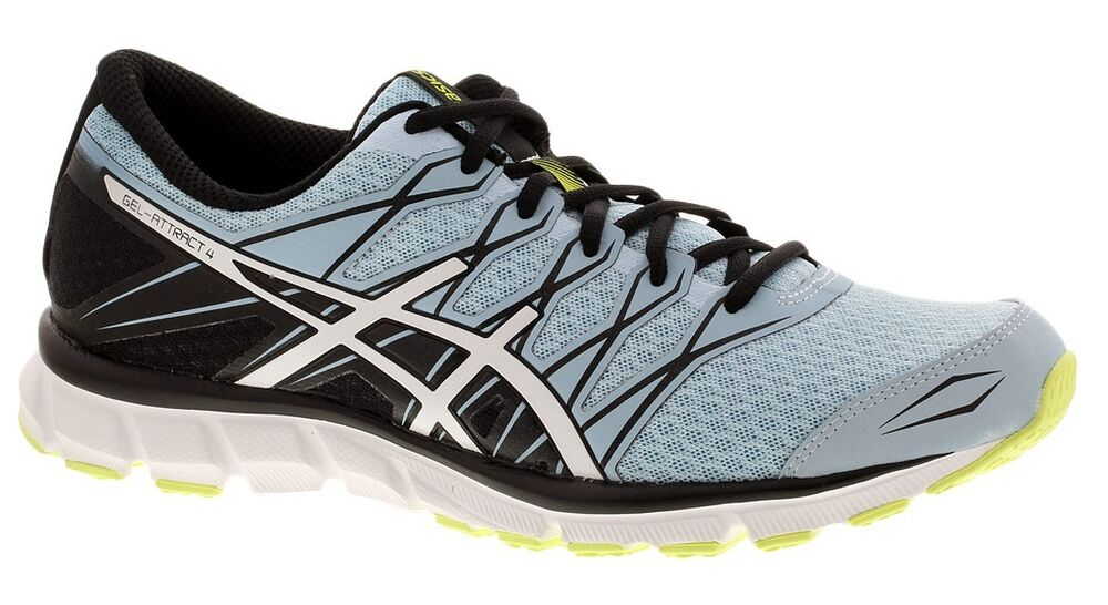 promo code e4d3d 4064f Womens Ladies ASICS Gel-Attract 4 Running Shoes Trainers Sneakers - Blue  Black   eBay