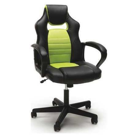 Gaming Chair Racing Style Green Ofm Inc Ess 3083 Grn Ebay