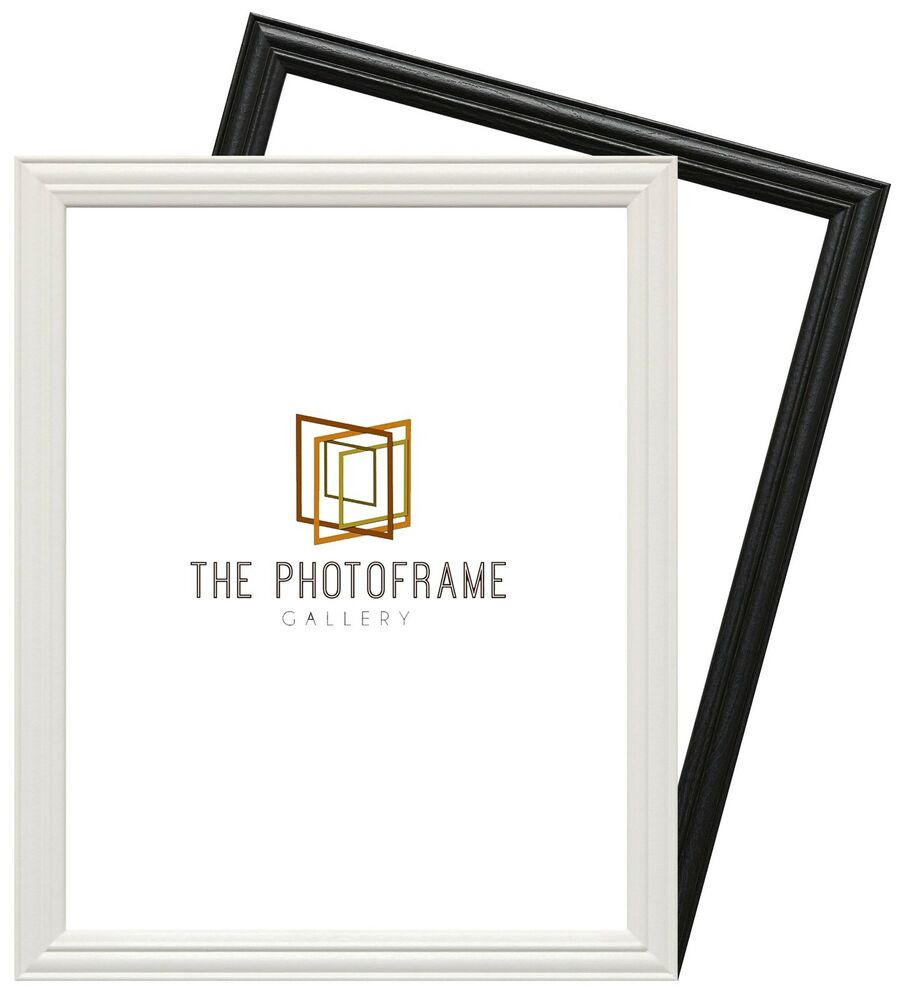 Wood Wooden Effect Picture Frame Poster Frame Various Square Size ...