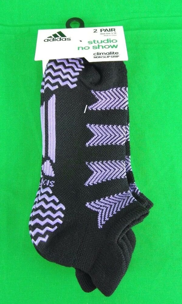 c070cb648 adidas Women's Studio No Show Socks (2 Pack) | eBay