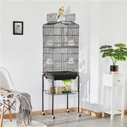Kyпить 64'' Play Open Top Small Parrot Cockatiel Conure Parakeet Bird Cage with Stand на еВаy.соm