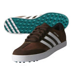 New Adidas Adicross V Brown Golf Shoes Leather & Suede Upper - Pick Size & Color