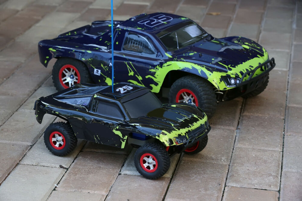 Traxxas 1:16 Slash Body Muddy Monster 7012 Brushless
