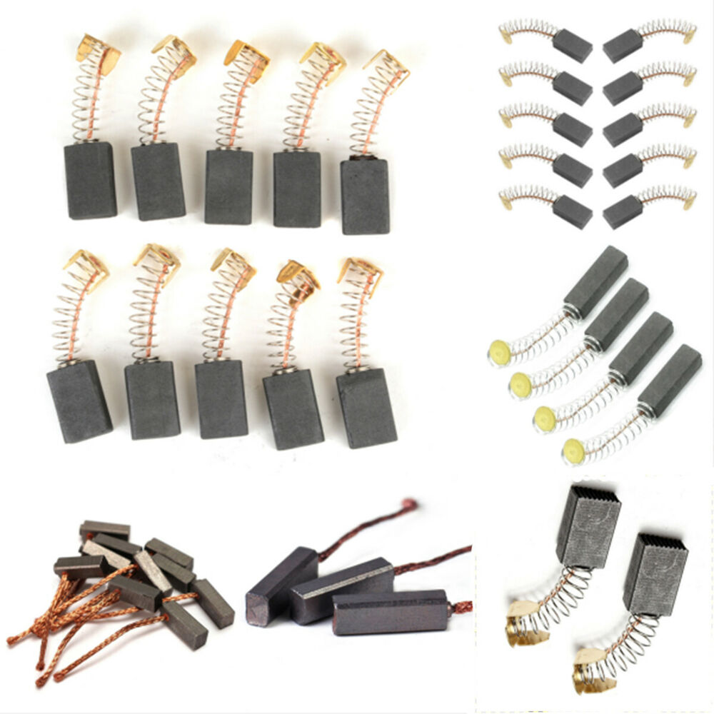 Carbon Brushes Part For Power Generic Electric Replacement