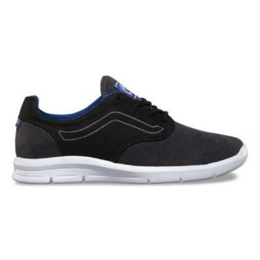 d4944cbdb095 Details about Vans Iso 1.5 (Pop) Black   Sodalite Blue- Ultra Lite Trainers  -Kids 11.5