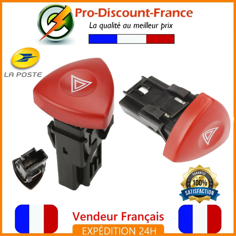 bouton warning pour renault laguna trafic 2 espace 4 emergency opel vivaro ebay. Black Bedroom Furniture Sets. Home Design Ideas