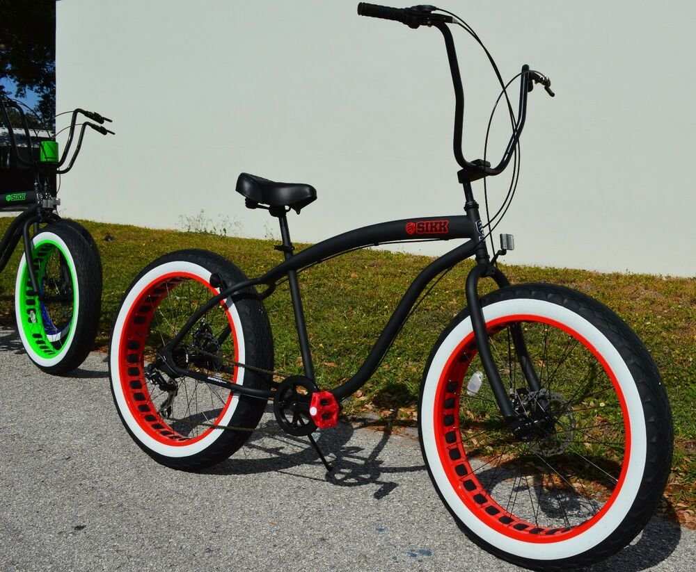 fat tire bicycle ebay