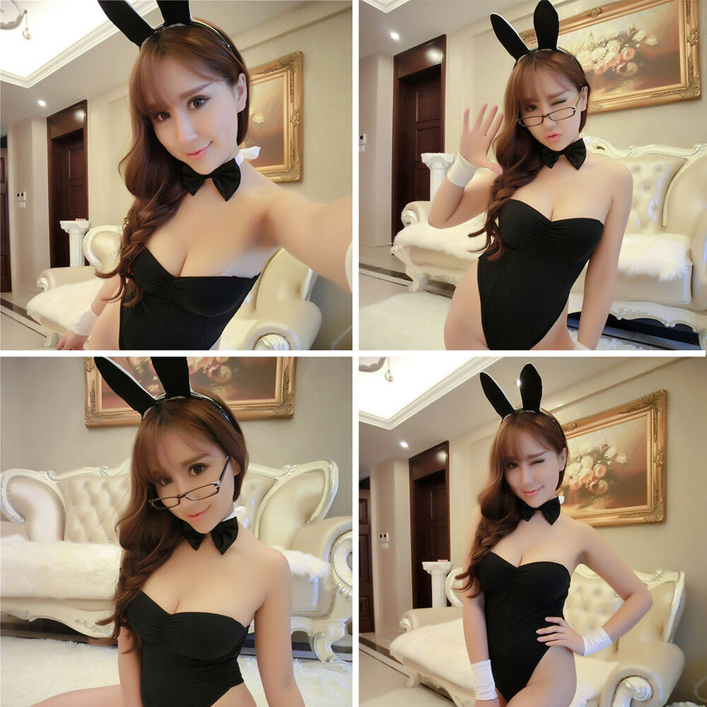 1e49e334c9b Details about Women Sexy Rabbit Bunny Lingerie Dress Outfit Underwear Party  Cosplay Costume