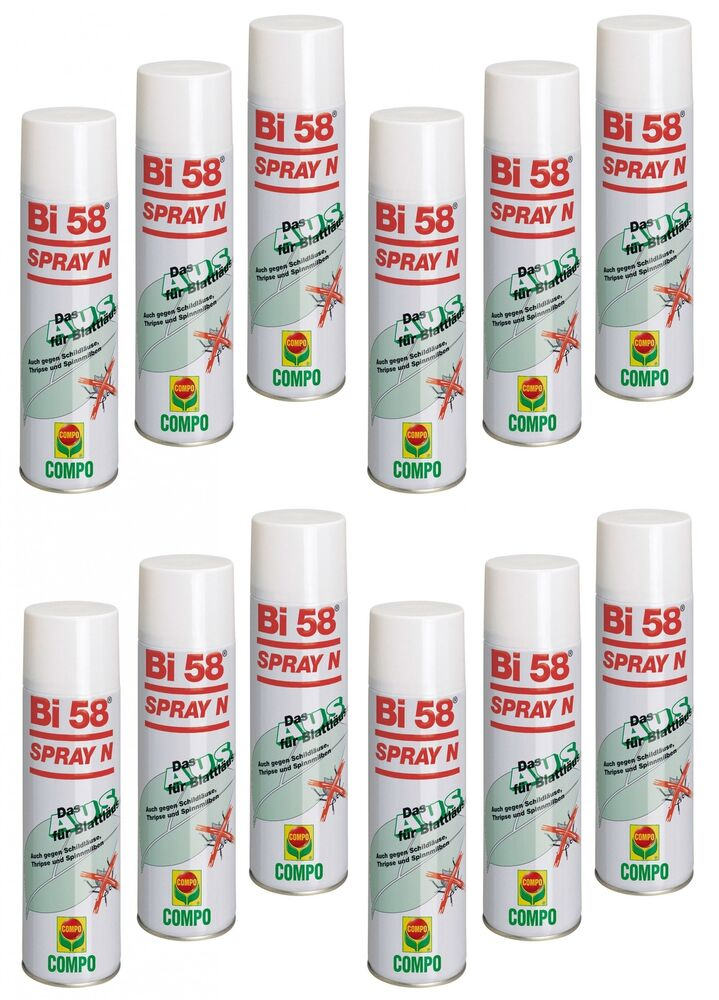 oleanderhof sparset 12 x compo bi 58 spray n 400 ml gratis oleanderhof flye ebay. Black Bedroom Furniture Sets. Home Design Ideas