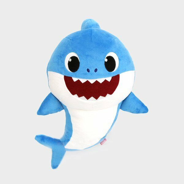 Pinkfong baby shark sound doll dad 1 song 3000 plays polyester pinkfong baby shark sound doll dad 1 song 3000 plays polyester 33x21cm 350g 36m 8809282305504 ebay stopboris Choice Image