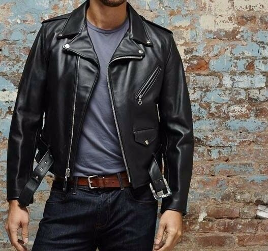 Perfecto Vintage Cafe Racer Jacket