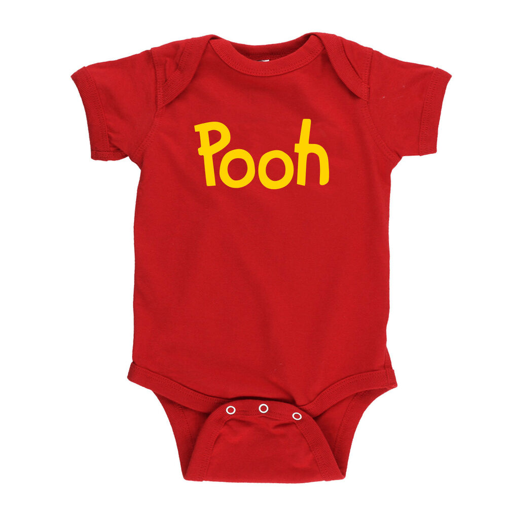9e9938d12585 Details about Pooh printed T-shirt Winnie the Pooh Halloween Costume Shirts  Adult Kid cosplay