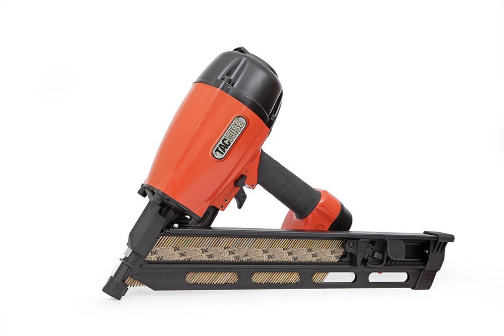 TACWISE KDH90V HEAVY DUTY 34 DEGREE ANGLED AIR STRIP NAILER 50-90mm ...