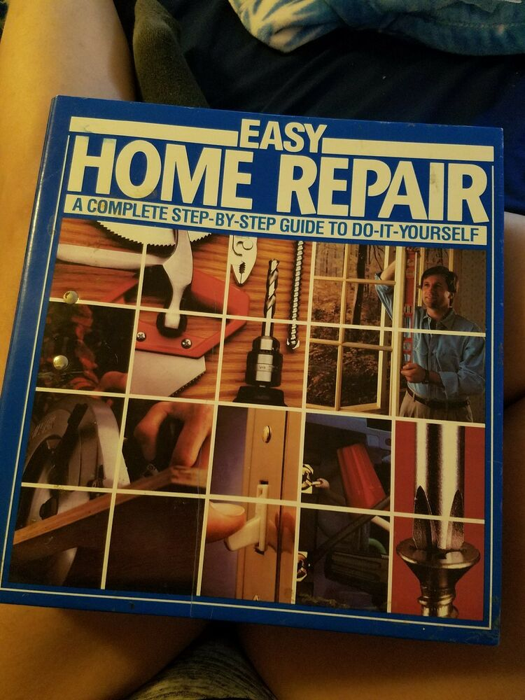 Easy Home Repair Complete Step By Guide To Do It Yourself Manual 0530 Ebay
