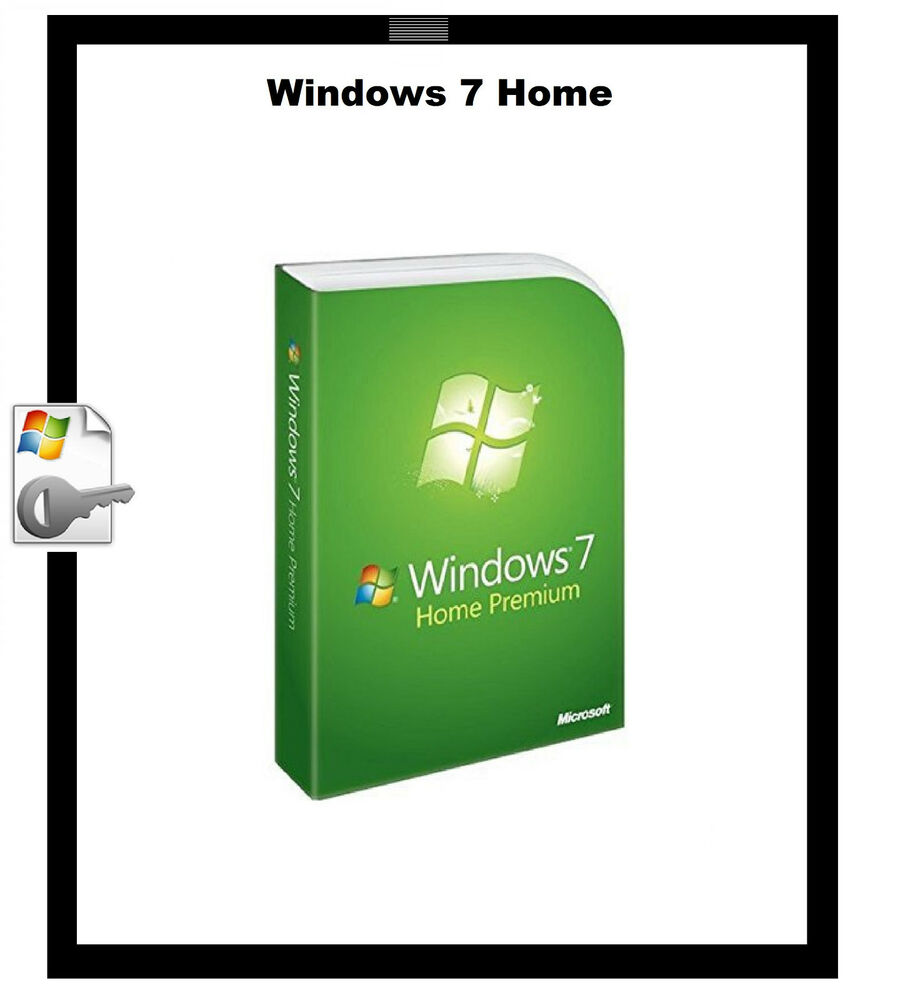 microsoft windows 7 home premium  with product key