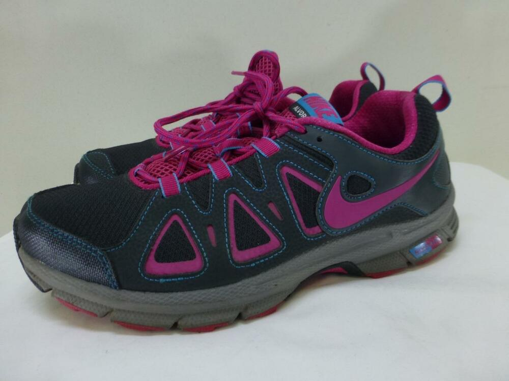 NIKE AIR ALVORD 10 Trail Women's Size 6.5 Gray Athletic Running Shoes 512038-005