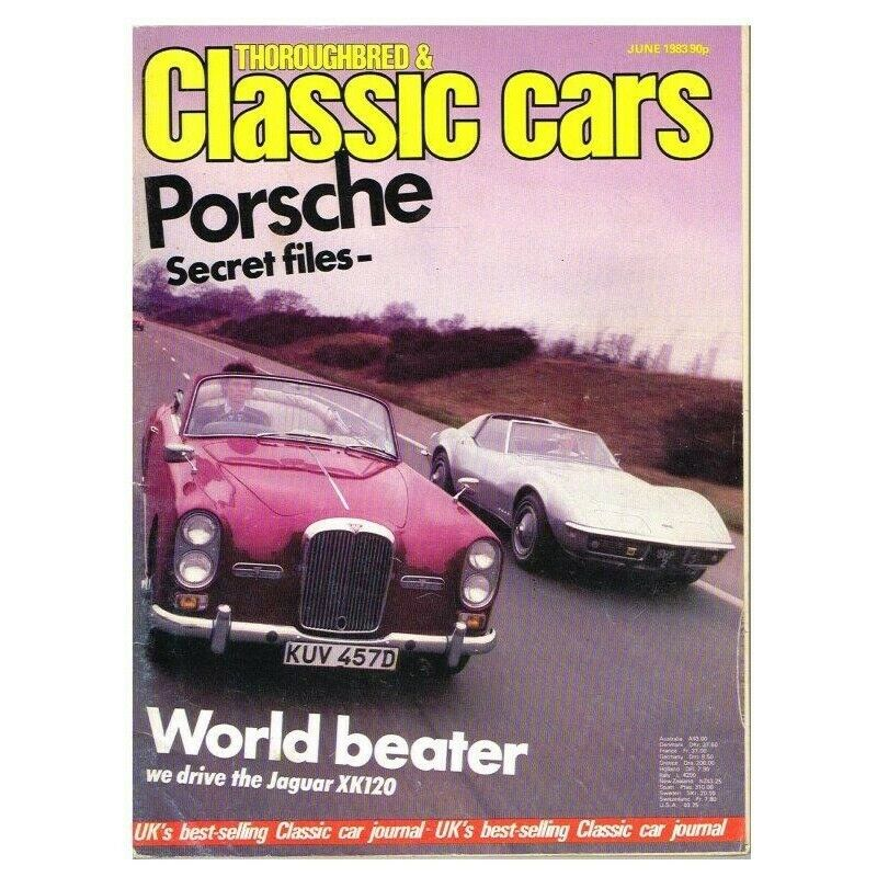 Details about Thoroughbred & Classic Cars Magazine June 1983 MBox187  Porsche Secret files - We