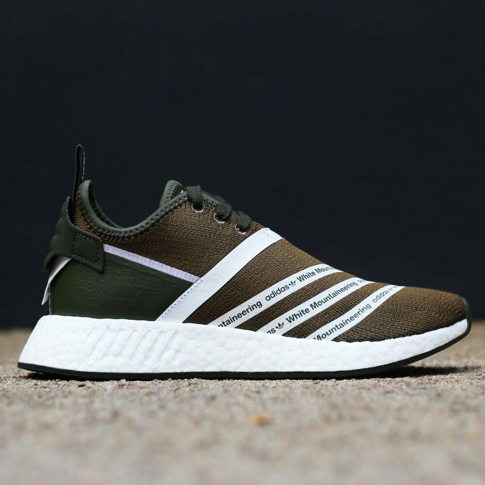 3f2346965ba99 Details about Adidas WM NMD R2 PK Olive Mountaineering Size 12.5 CG3649  yeezy ultra boost