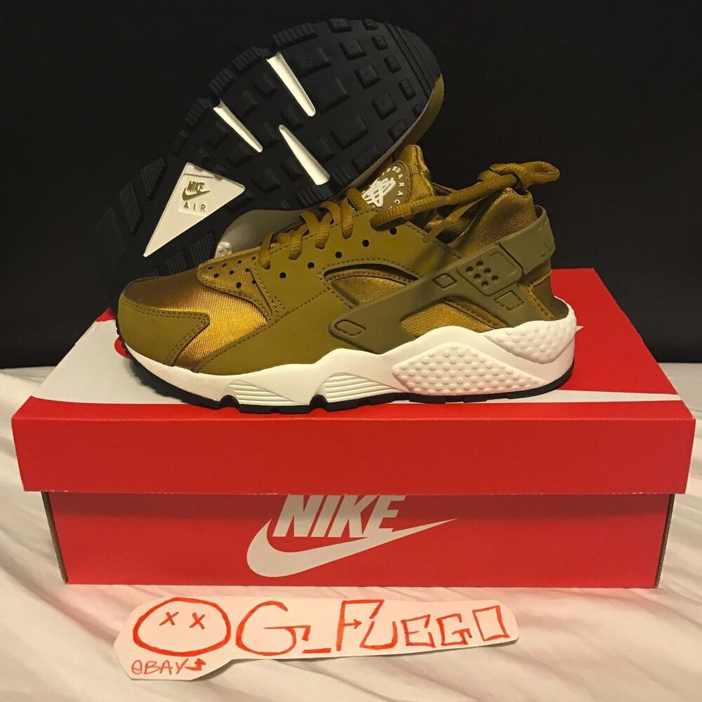 newest collection 8959d c7f65 Details about NIKE AIR HUARACHE BRONZINE GOLD WOMEN S SIZE 6 6.5 7 7.5 8