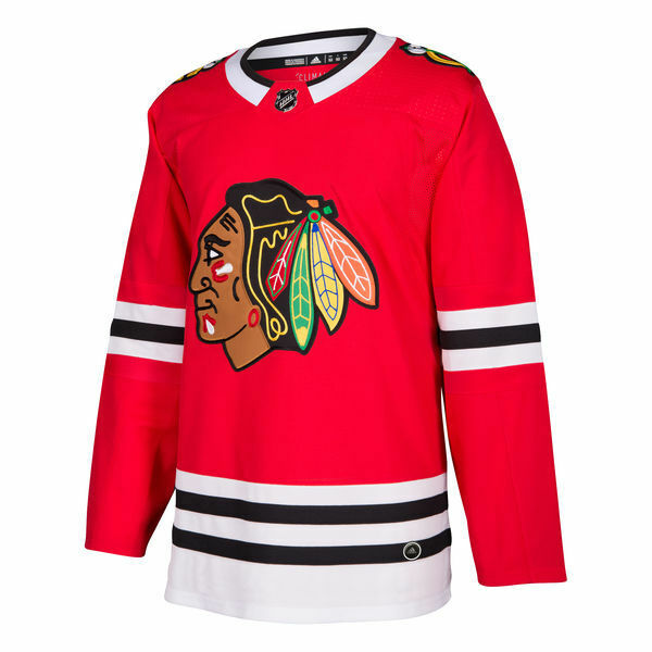 84f226920ff Details about Chicago Blackhawks adidas Red Home Authentic Pro Blank Hockey  Jersey 50 - Medium
