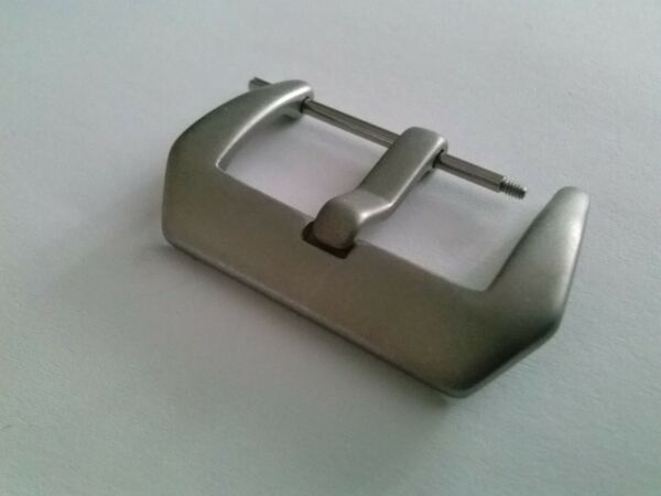 Sand Blasted PreV Pre-V Stainless Steel Screw-In Buckle 18mm 20mm 22mm 24mm 26mm