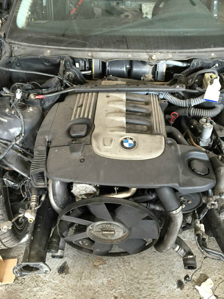 Bmw 3er E46 330d Touring M57 Engine Complete Without Transmission Yr