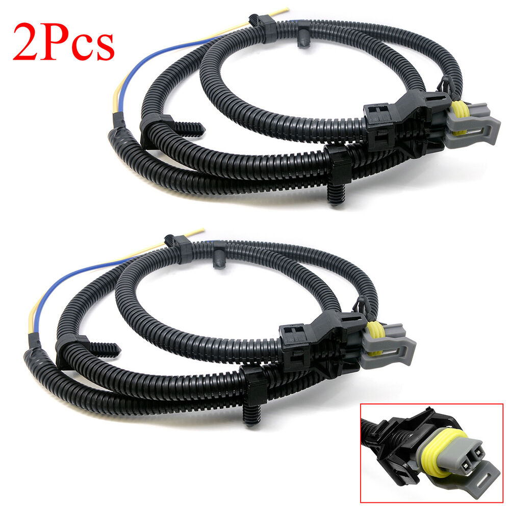 2x abs wheel speed sensor wire harness 10340316 for chevy buick cadillac pontiac 707943762087 ebay. Black Bedroom Furniture Sets. Home Design Ideas