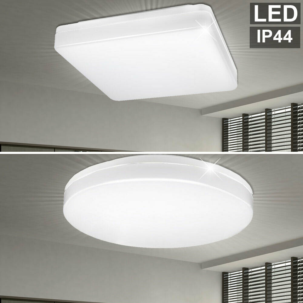 Led Ceiling Lights Bathroom Daylight Lighting Ip44 Porch
