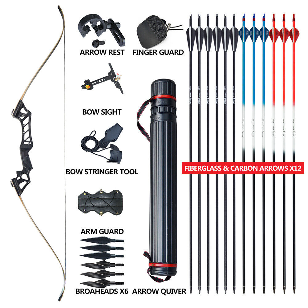 Archery Arrow Rest Screw Hunting Shooting Recurve Compound Right Hand Bow
