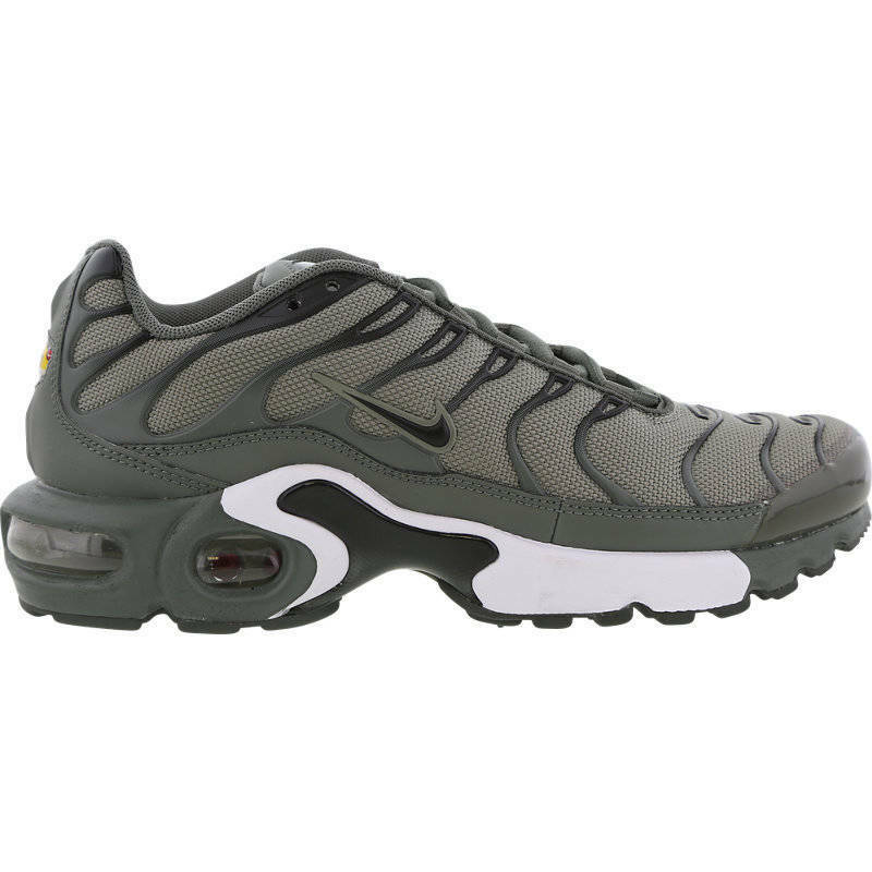 huge selection of 89247 a0883 Details about NIKE AIR MAX PLUS ( GS ) TUNED 1 GREY TN UNISEX JUNIOR 655020  056 ALL SIZES