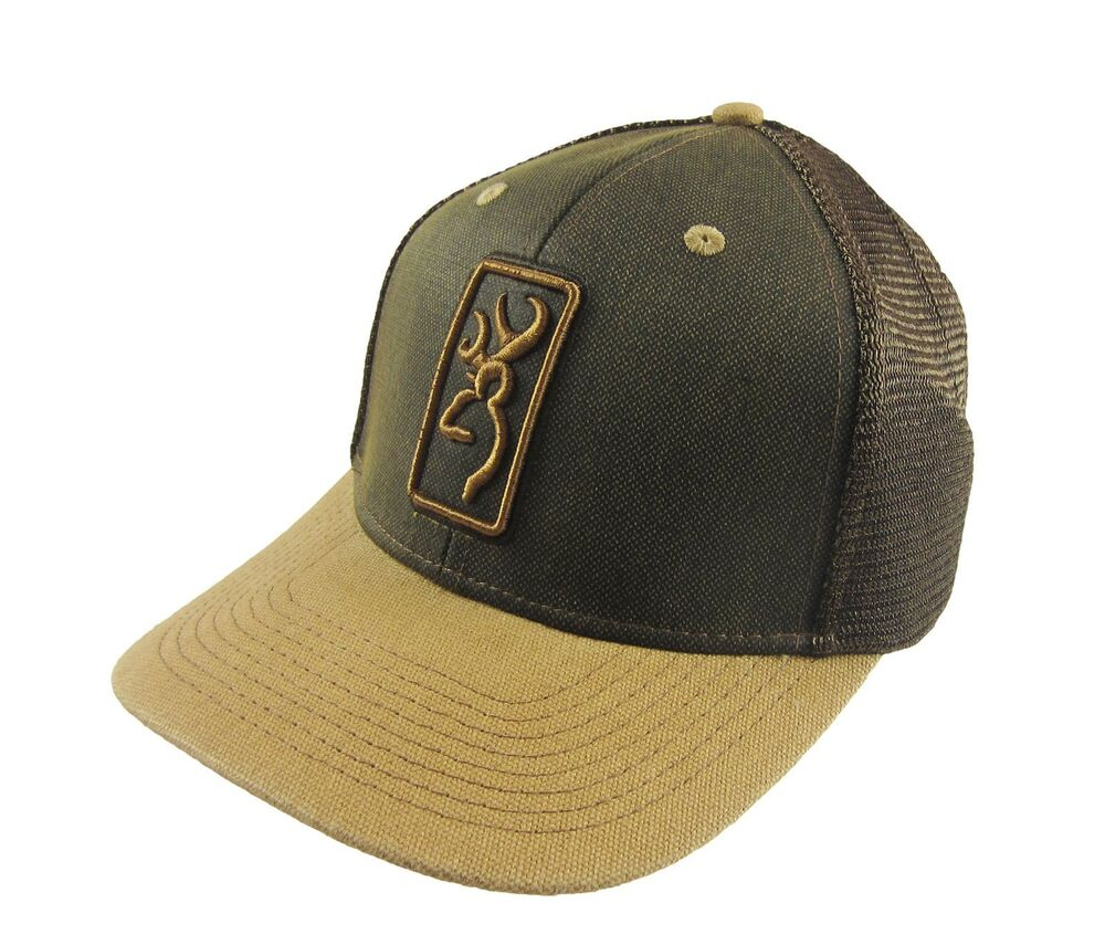 222d08aefa22d Browning Hudson Loden Mesh Hat Cap Snapback One Size NWT 23614490234 ...