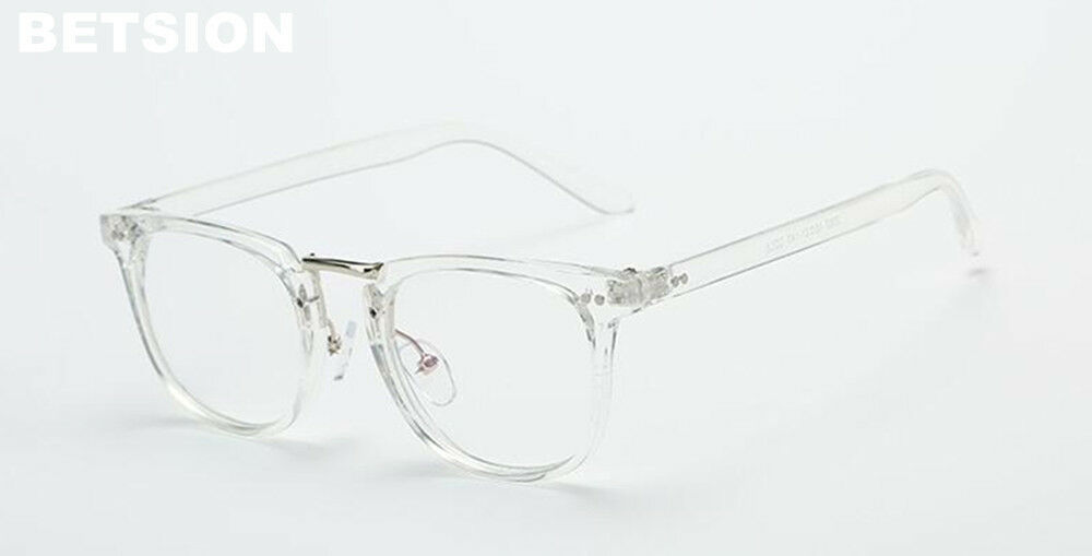 64e6d34c9e Details about Clear Transparent Eyeglass Frames Full Rim man women Glasses  Eyewear Rx able