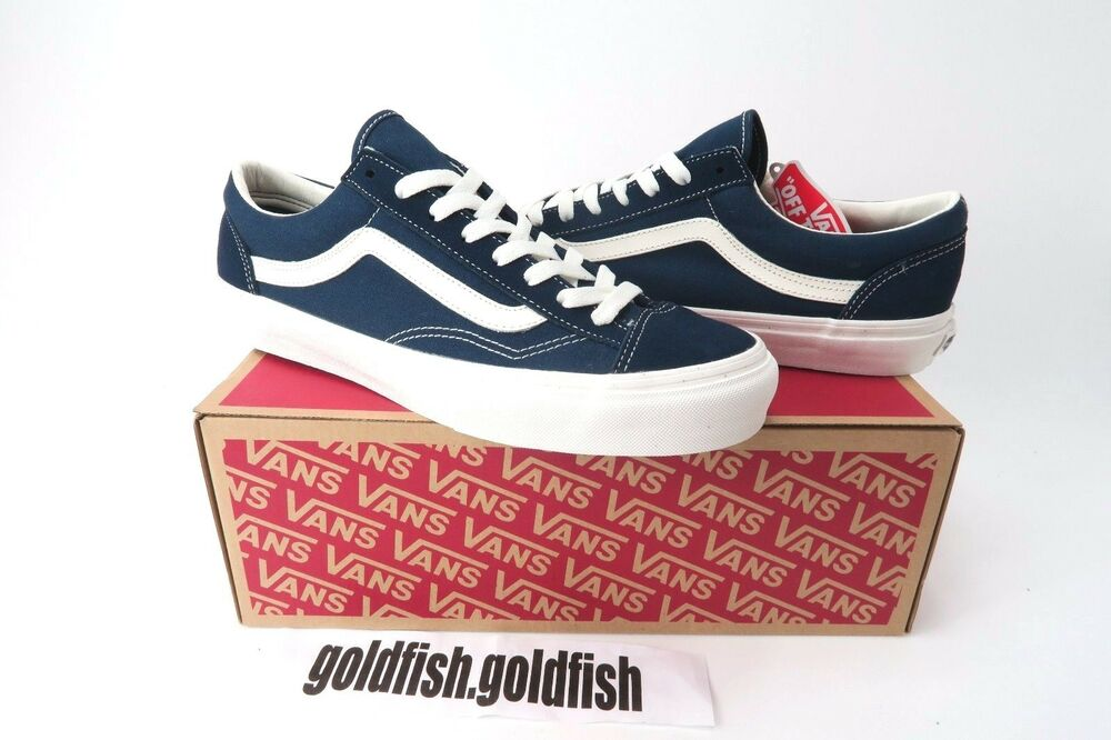b7209074a1 Details about DS VANS OLD SKOOL STYLE 36 DRESS BLUES MARSHMALLOW NAVY ASIA  RELEASE VN0A3DZ3RFL