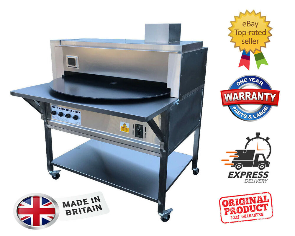 """COMMERCIAL AUTOMATIC ROTARY TANDOOR OVEN/ ROTI NAAN MACHINE 40"""" DISK ..."""