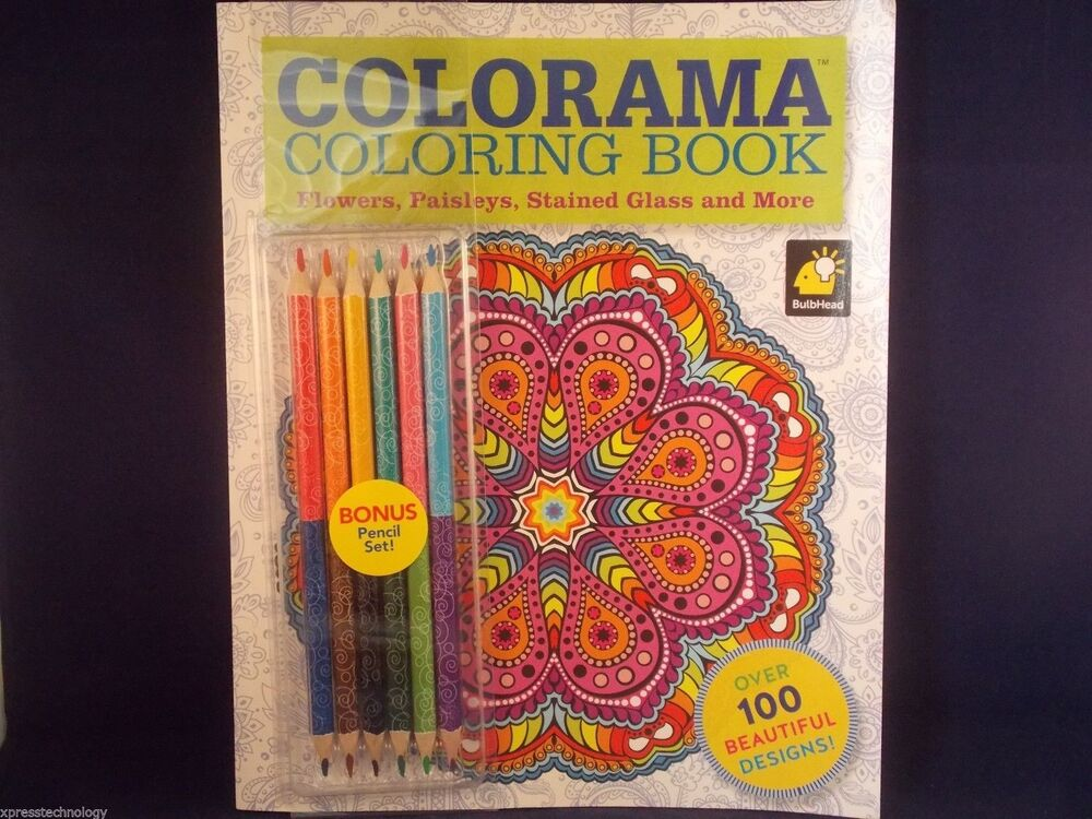 Colorama Coloring Book As Seen On Tv Brand New Free Shipping 9780990963547