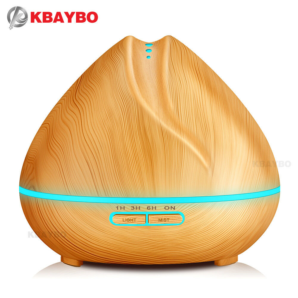 diffuseur huile essentielle 400 ml humidificateur d 39 air 7 changements de coul ebay. Black Bedroom Furniture Sets. Home Design Ideas