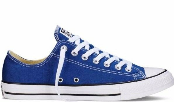 4bbf5eab6aaa Details about Converse All Star Chuck Taylor Original Low 151177F Road Trip  Blue Shoes  NO BOX