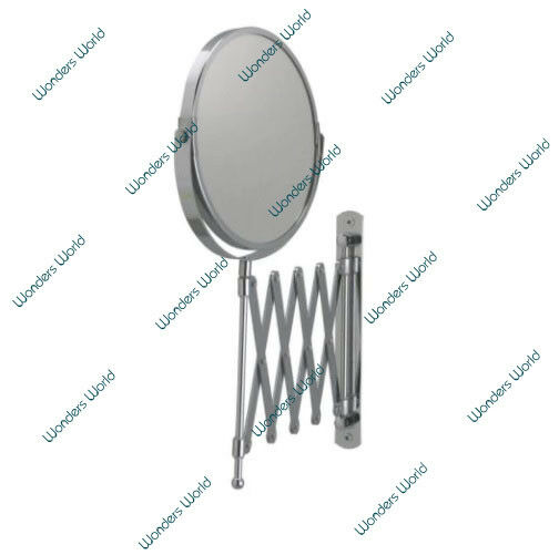 extending wall mounted mirror magnifying bathroom cosmetic shaving mirror makeup 5056074340516. Black Bedroom Furniture Sets. Home Design Ideas